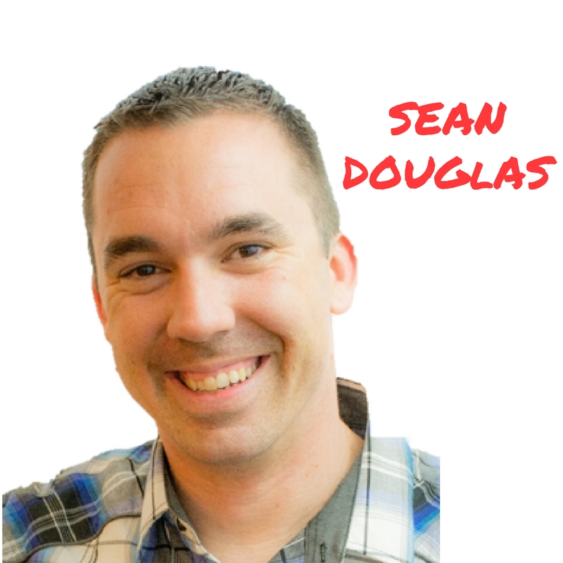 Sean Douglas smiling- Hacking your brain for success